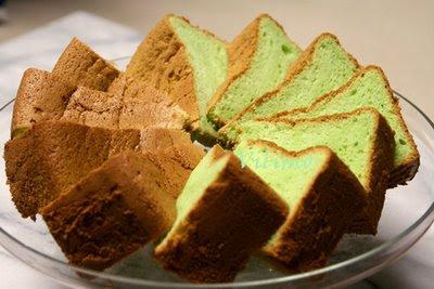 Resep dan Cara Membuat Kue Bolu Pandan :