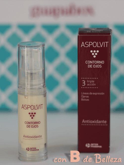 Contorno ojos antiedad Aspolvit