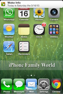 Wake Info 1.1.0-1 - iphone family world | iphone family