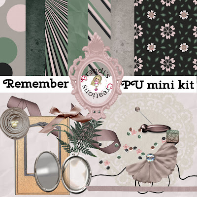 Remember Mini Kit freebie