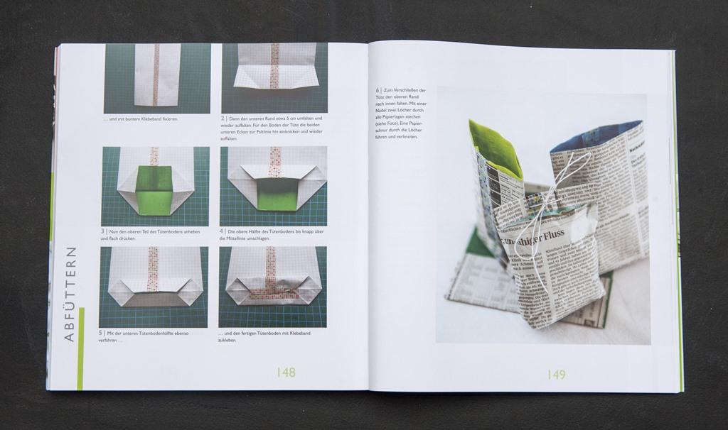 diy neues aus altem papier einfallsreich. Black Bedroom Furniture Sets. Home Design Ideas