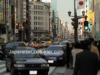 Ginza shopping Tokyo copyright peter hanami 2009
