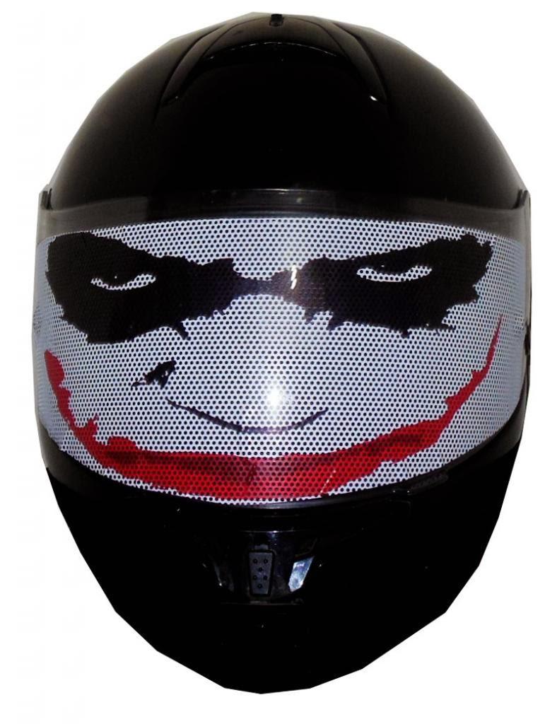 Motorcycle Helmets Motorcycle Helmet Visor Decals - Motorcycle helmet visor decals