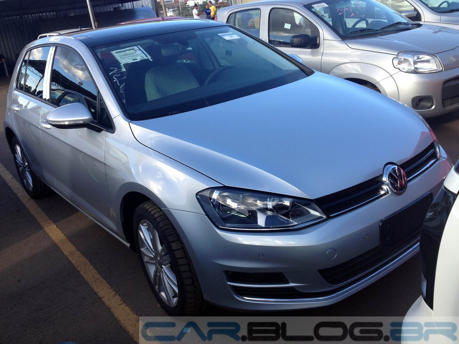 VW Golf TSI Highline 2015 Prata Sargas