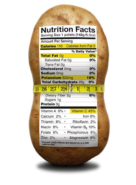 potato nutritional content