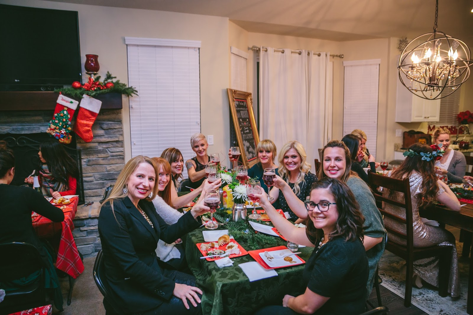 Ordinary Book Club Christmas Party Ideas Part - 6: Delicious Reads