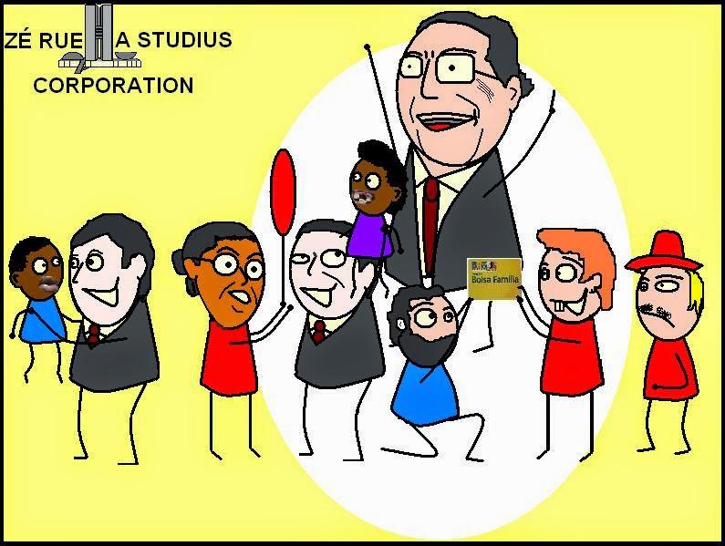 Todo ano de eleição é a mesma história. Abraçam o povo, beijam o povo, visitam favelas, visitam comércios e até comem salgados para dizerem que são humildes, pegam crianças no colo, tiram fotos e fazem propagandas de diversos programas para melhorar a vida de todos. Depois de eleitos, somem, desaparecem, e somente voltam a aparecer quando são acusados de corrupção, tais como desvio de verba, lavagem de dinheiro, peculato, criação de cartel, enriquecimento ilícito e formação de quadrilha.