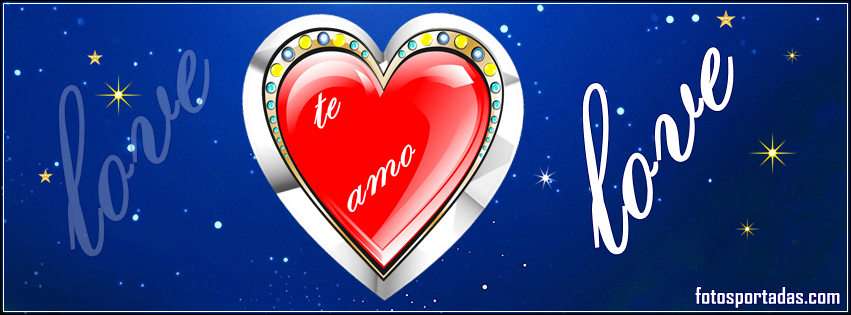 Portadas románticas con imágenes de amor para facebook - Fotos ...