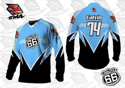 Jual Jersey Baju Pakaian Celana Sepeda, Motocross, Trail...dll - RMA Ride More Asia Jersey Sample3