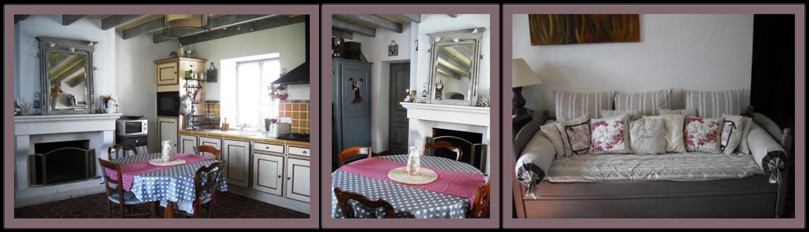 Cours peinture d corative meubles peints patin s cuisine relook e patin e - Relooker armoire cuisine ...