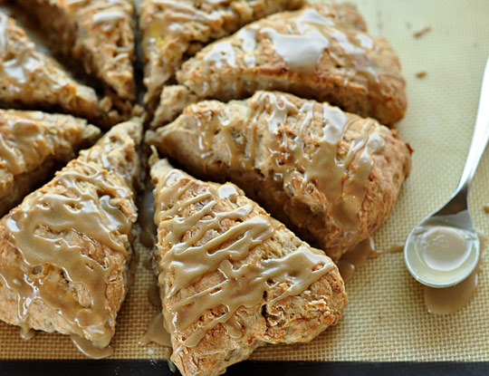 mmmm delicious i just made these banana bread scones and they re soooo ...