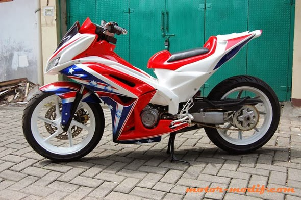 Berikut Galeri Foto Modifikasi Honda New Blade 2012 Terupdate: title=