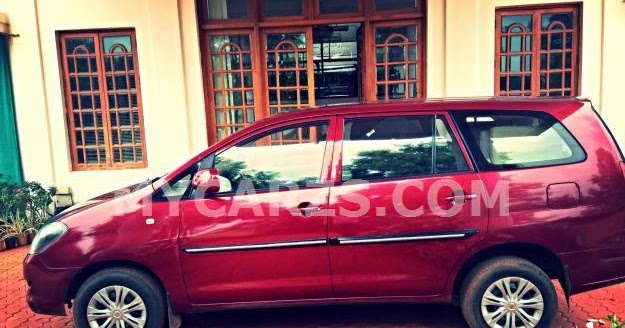 Toyota Innova G4 Red 2006 In Hyderabad Mycarzs Com New