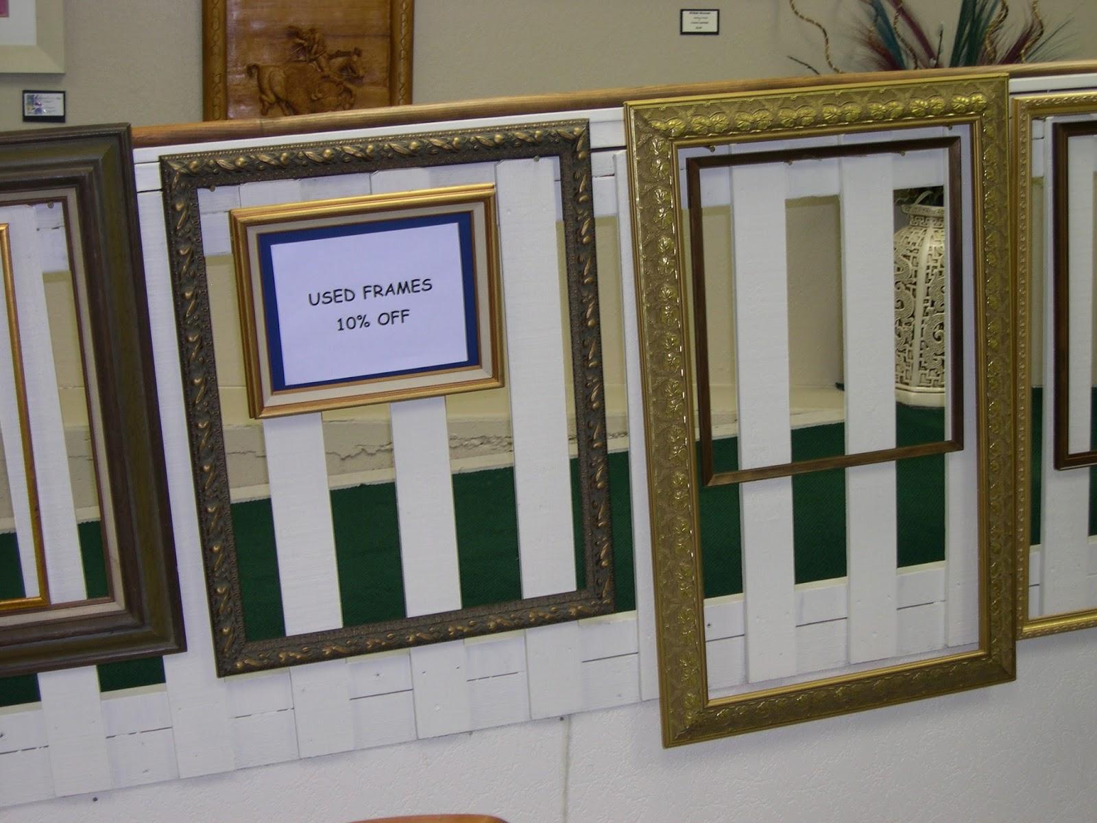 Ye Olde Art Shoppe: Frame Sale