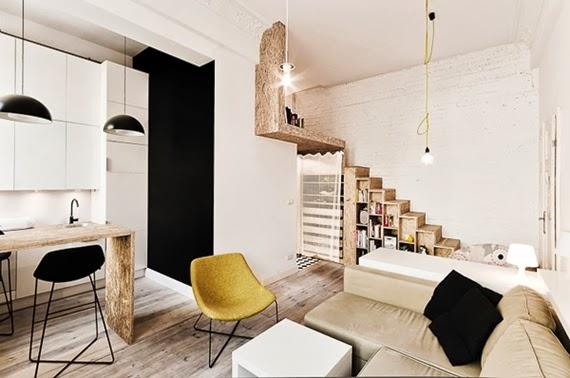 apertado e alto - como aproveitar espaço - apartamento pequeno