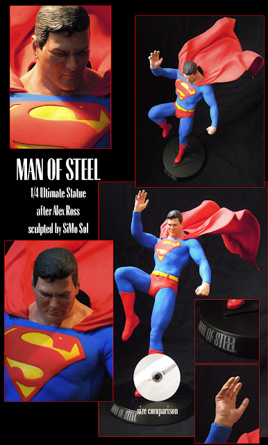 Superman 23' Premium Format Statue - by SiMo Sol