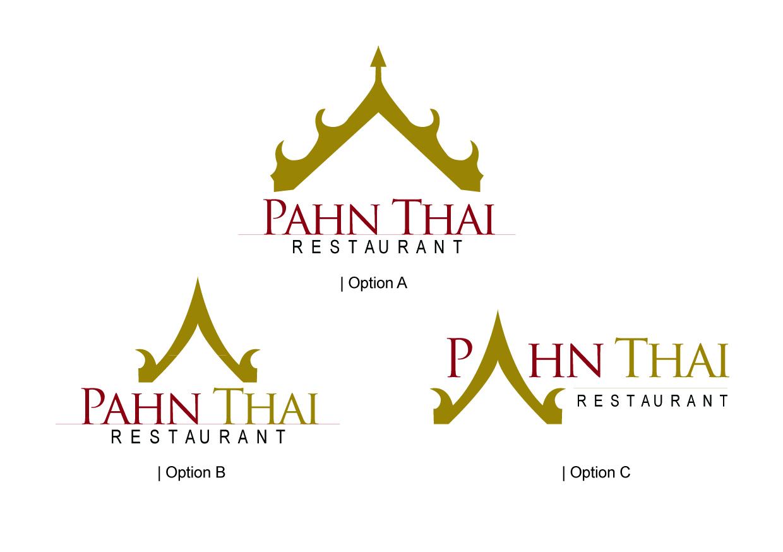 Thai restaurant logo design for Cuisine logo