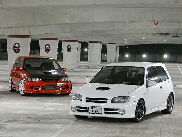 Toyota Starlet, P9