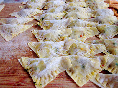 Vegetarische dumplings