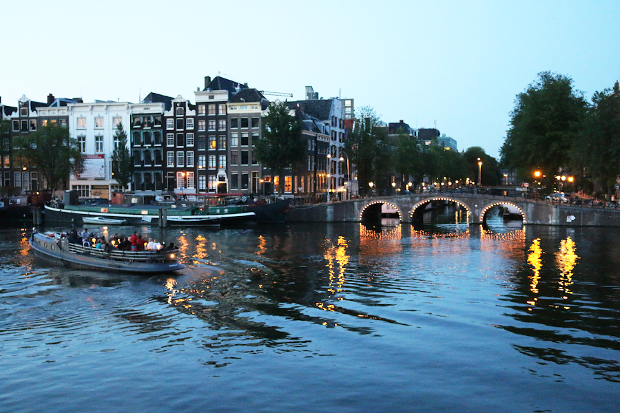 Summer nights in Amsterdam