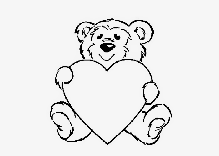 Teddy Bear Coloring Pages For Kids Free And