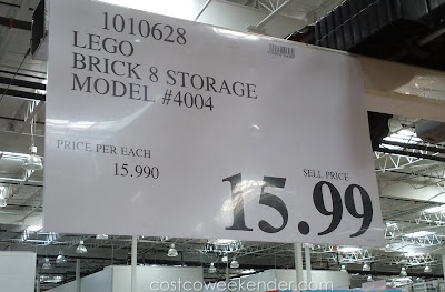 Deal for a Lego Storage Brick with 8 Knobs at Costco