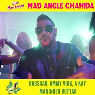 Mad Angle Chahida Lyrics - Bingo Mad Angles