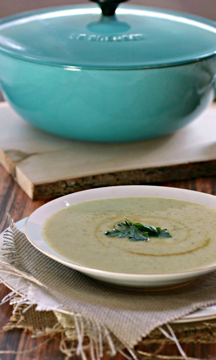 Hungry Couple: Curried Potato and Broccoli Soup