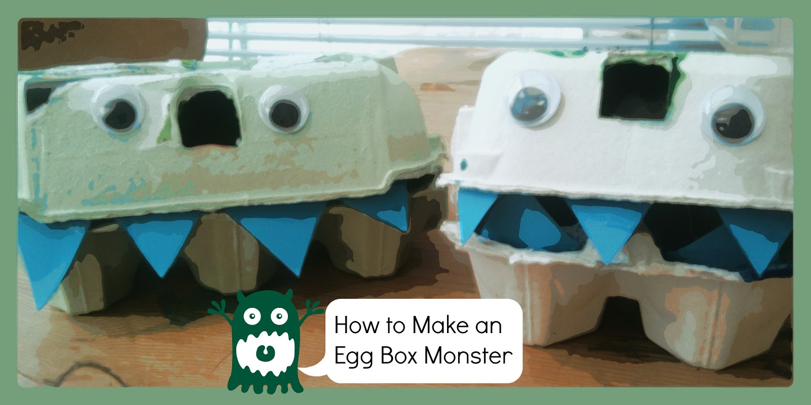 Three good things week 4 including how to make an egg for Things to make with egg boxes