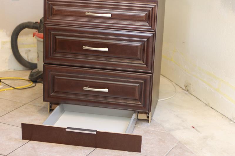 30 Inch Bathroom Vanity With Toe Kick kitchen renovation: how to make a secret toekick drawer | tikkido
