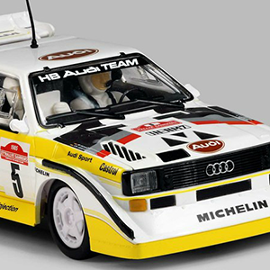 Manicslots Slot Cars And Scenery News Scalextric Audi Quattro