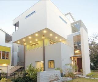 Fachadas casas modernas fachadas de casas de dos pisos for Pisos para casas pequenas
