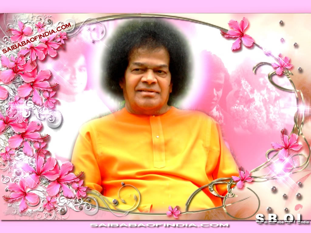 Sri Sathya Sai Baba Pc Wallpaper Clippubcom