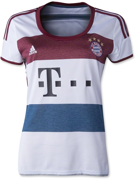 FC Bayern Shirt Away Women 2014-2015