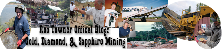 Rob Towner's Official Gold & Diamond Mining Technique Blog