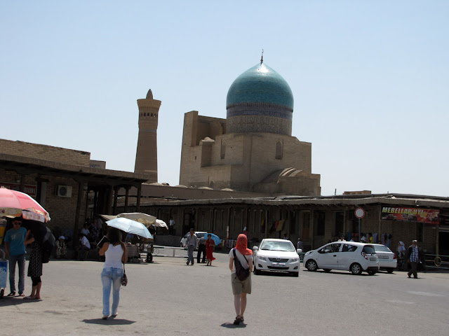 Uzbekistán, Bukhara - mezquita Kalyan