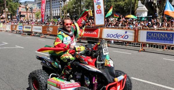 Dakar Por Bolivia - Walter Nosiglia - Rally Dakar 2015