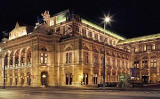 Exterior Ópera Nacional - Viena