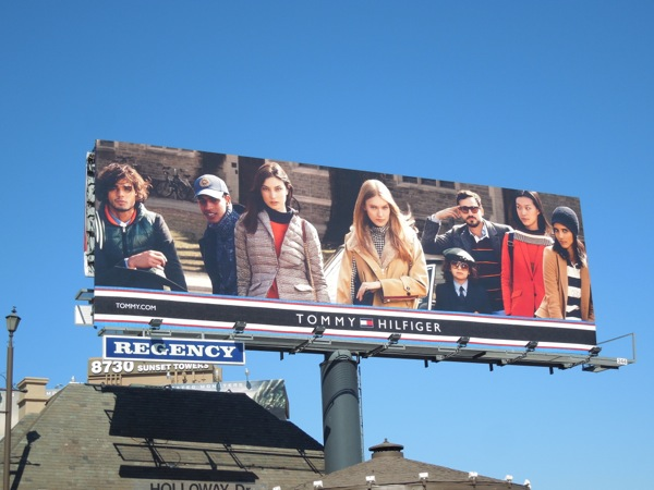 Tommy Hilfiger FW 2013 fashion billboard