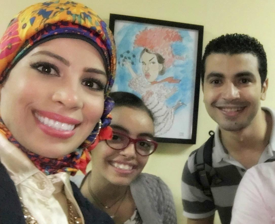 مع نجم مسرح مصر الفنان محمد أنور - سبتمبر 2016