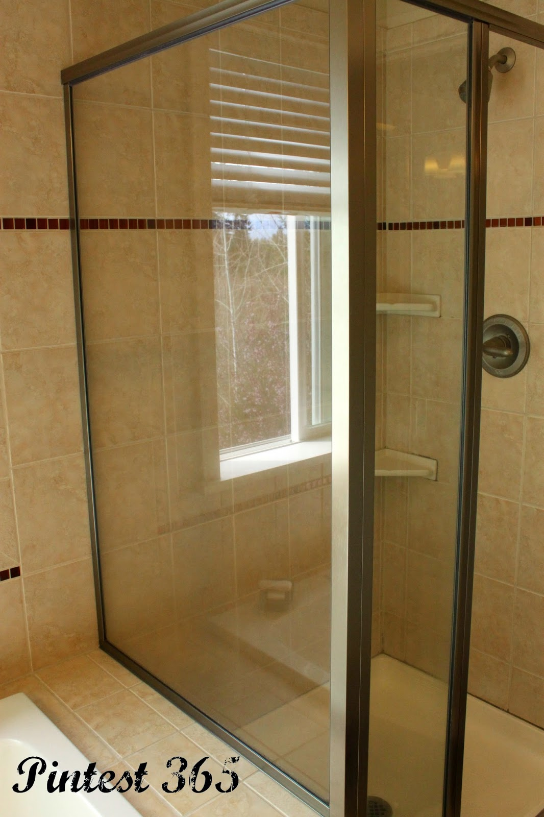 how to get soap scum off showers