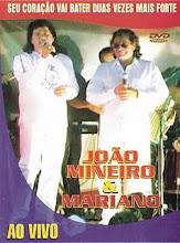 DVD - João Mineiro e Mariano Ao Vivo