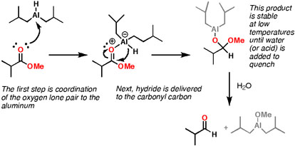 Dibal h reduction of nitriles mechanism