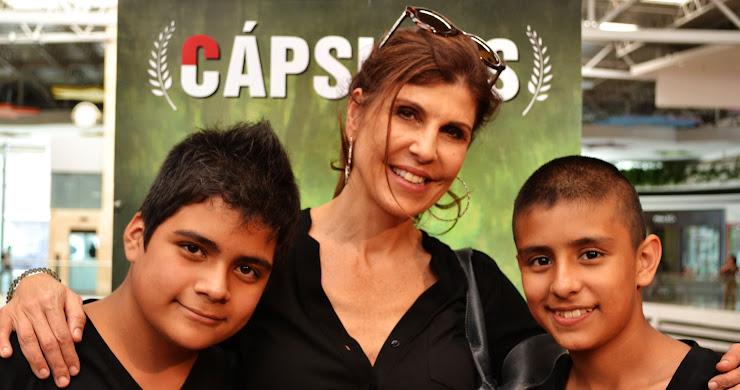 Elenco de Cápsulas película guatemalteca (fotografías)