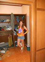 A photo of me before Full Moon Party Thailand 2011