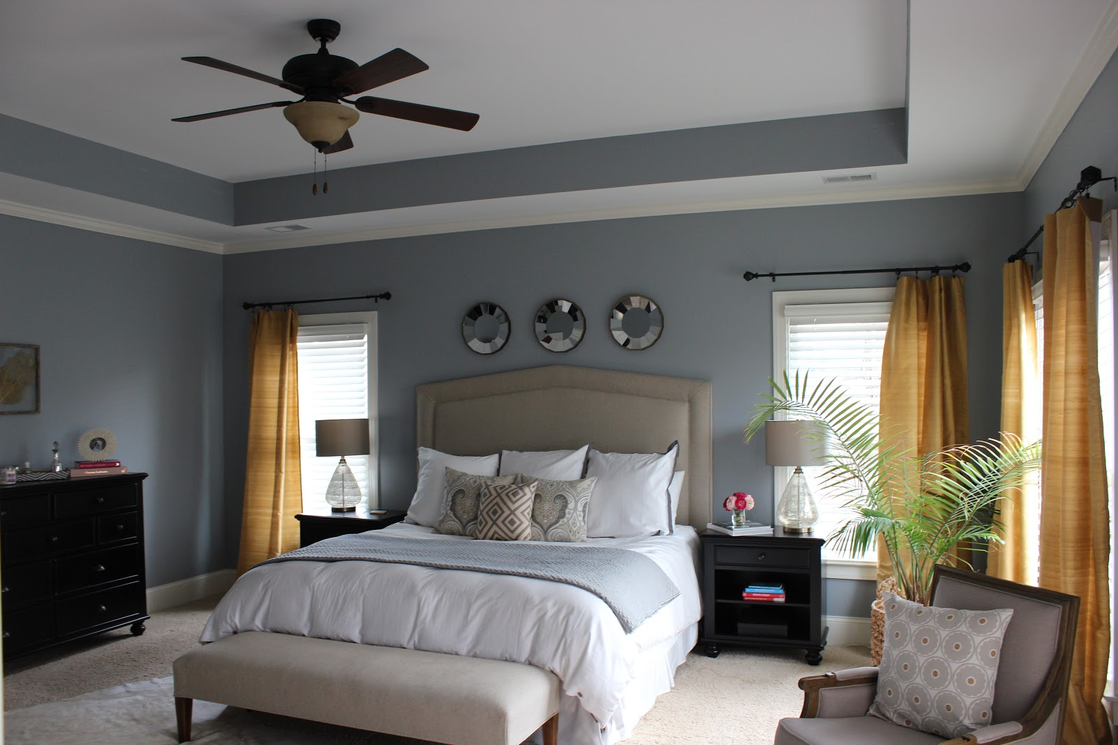 Master Bedroom Grey Color Schemes images
