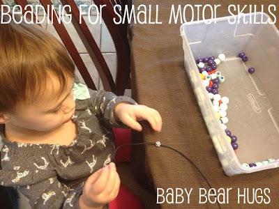 beading for small motor skills