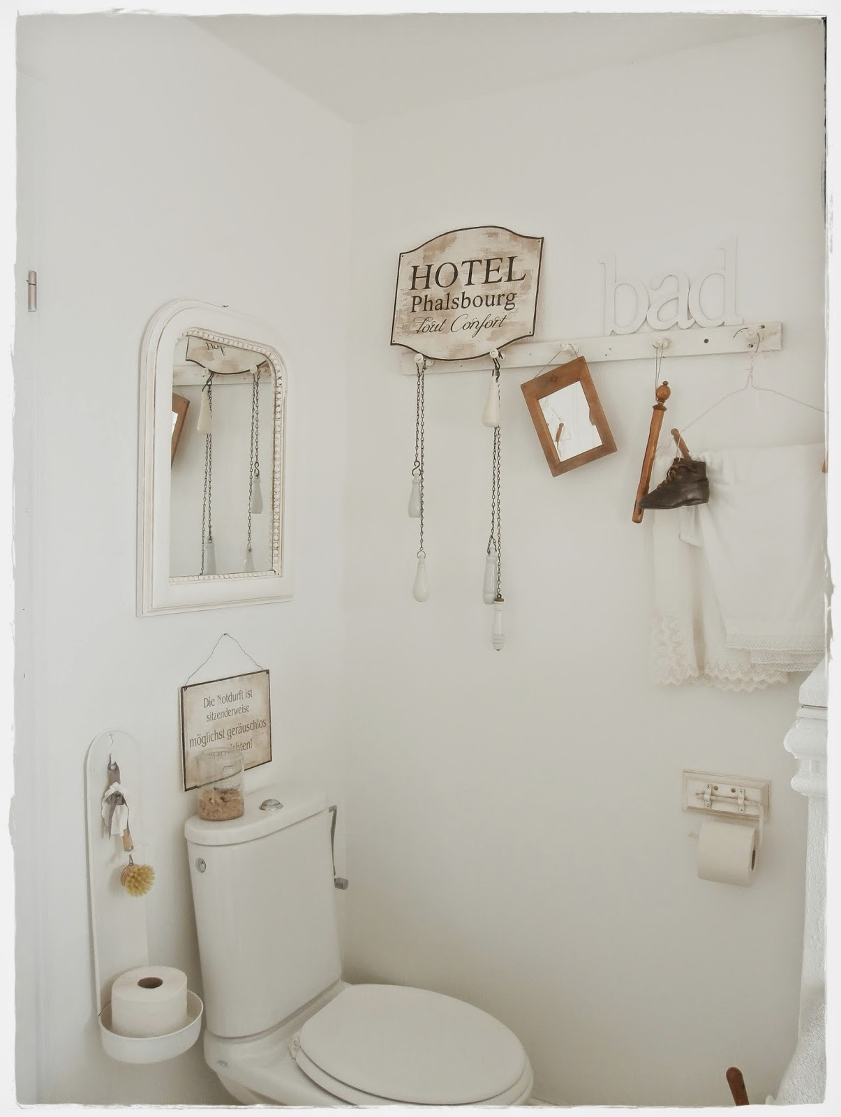 Shabby and charme una favolosa stanza da bagno in stile shabby chic - Shabby and charme ...