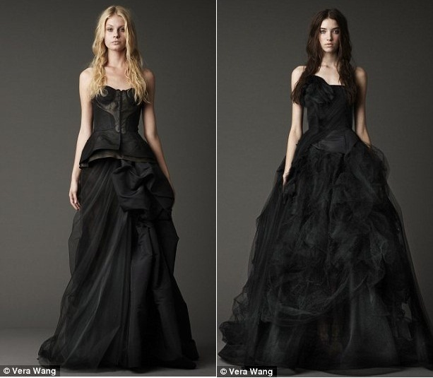 Vera Wang a commenté le choix du noir pour ses robes de mariée de ...
