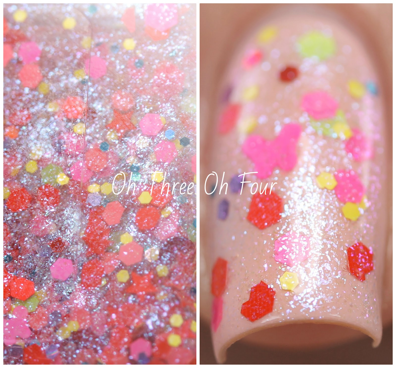 Blue-Eyed Girl Lacquer Watch the Walls Swatch